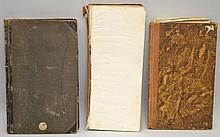 (3) MISC. 19TH CENT. BUSINESS LEDGERS AND JOURNALS