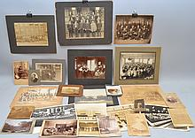 LOT OF 19TH CENT. - EARLY 20TH CENT. PHOTOGRAPHY