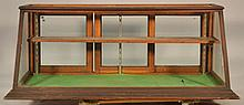 19TH SUN MFG. CO. COUNTRY STORE - COUNTER TOP SLANT FRONT GLASS SHOW CASE