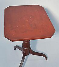 N.E. PAINTED EMPIRE CANDLE STAND