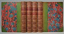 The Poetical Works of Henry Wadsworth Longfellow - 4 Volumes