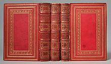 Reliques of Ancient English Poetry: Consisting of Old Heroic Ballads, Songs, and Other Pieces of Our Earlier Poets by Thomas Percy - 3 Volumes [LEATHER BINDING BY BOTHERAN & CO.]