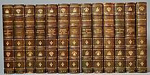 SANGORSKI & SUTCLIFFE BINDINGS.  The Works of Francis Parkman - Centenary Edition - 13 Volumes