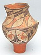 19TH-EARLY 20TH CENT. ACOMA TYPE PUEBLO INDIAN POTTERY PITCHER