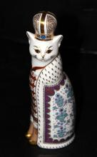 Royal Crown Derby Russian Cat