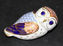 Royal Crown Derby Porcelain Owl