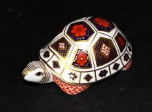 Royal Crown Derby Porcelain Turtle
