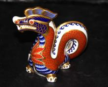 Royal Crown Derby Dragon Figure