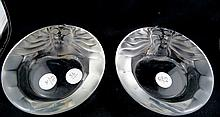 Pair of Lalique
