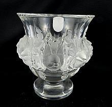 Lalique Dampierre Bird Vase