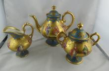 3 pc. Dresden Germany Tea Set