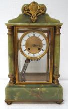 Lovely Onyx & Bronze Clock