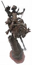 Large Carl Kauba (1865-1922) Austria Bronze Sculpture