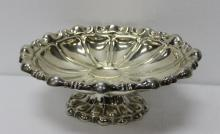 Art Nouveau Sterling Silver Footed Centerpiece