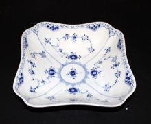 Royal Copenhagen Blue Lace Square Serving Dish