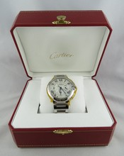 Men's Stainless Steel Cartier Watch