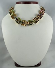 Fine Multi-Colored Gemstone Necklace