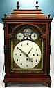 Antique Austrian & Enamel Bracket Clock