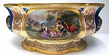 19th C. Paris Porcelain Centerpiece