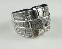 14Kt WG 3ct Diamond Ring