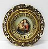 Stunning Royal Vienna Porcelain Framed Plate