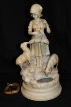 Beautiful Italian Marble Lamp Group