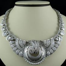 18Kt WG 25.00ct Diamond Necklace