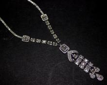 18Kt WG 8.92ct Diamond Necklace