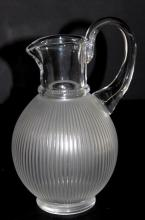 Lalique France Langeais Pitcher