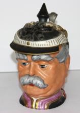 Antique German Porcelain Beerstein