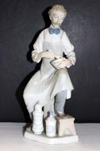 Lladro Pharmacist Porcelain Figurine