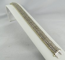 14Kt Ladies Diamond Bracelet