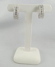 18Kt WG Diamond Earrings