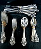 60 Pc. Wallace Grande Baroque Dinner Size Flatware Set