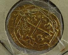 1713 Spanish Gold 2 Escudos 5.8 g