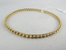 18Kt YG Bangle Bracelet