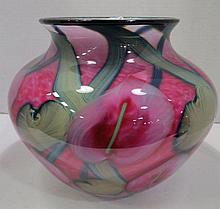 Daniel Lotton Art Nouveau Vase