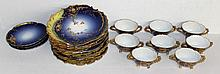 21 Pc. M. Redon Limoges France Set