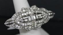 Platinum 5.00ct Diamond Ring