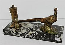 Unique Vienna Bronze Bird Figure