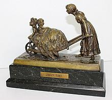 Carl Kauba (Austrian 1865-1922) Bronze Group