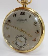 Patek Philippe for Tiffany & Co. 18Kt YG Pocket Watch