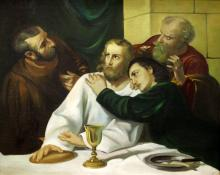 Old Master Style Religious Oil Painting on Canvas