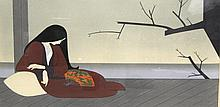 Will Barnet (American b.1911) Madame Butterfly Serigraph