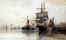 Fredrick James Aldridge (British 1850-1933) Painting