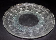 Rene Lalique Ormeaux Leaf Plate