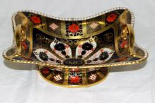 Royal Crown Derby Handled Footed Serving Tray