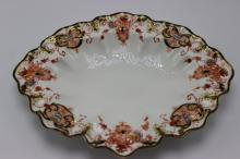 Royal Crown Derby Scalloped Edge Oval Serving Dish