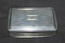 Nathaniel Mills Sterling Pill Box