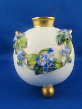 Royal Worcester Floral Design Vase